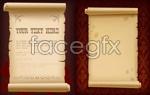 Link toOld brown paper vector