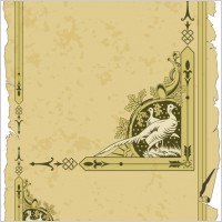 Link toOld classic pattern with border 03 vector