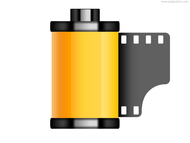 Link toOld film roll icon (psd)