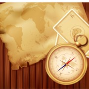 Link toOld map and compass backgrounds 02 vector