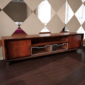 Link toOld-styled tv-shelf 3d model