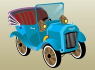 Link toOld-timer car vector free