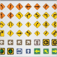 Link toOld traffic signs icon 04 vector