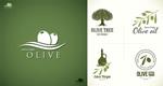 Olive oil logo vector