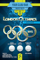Link toOlympic games colour advertising psd