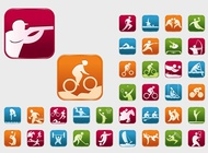 Link toOlympic sports vectors free