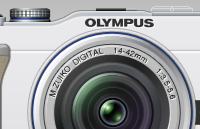 Olympus pen lite e-pl1 psd