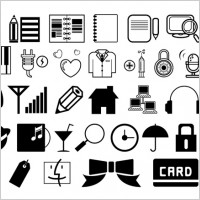 Link toOne simple black and white icon vector
