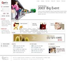 Link toOnline mall shopping footage psd