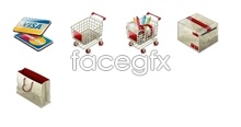 Link toOnline shopping tools icon cart