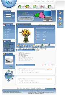 Link toOnline store digital printers psd