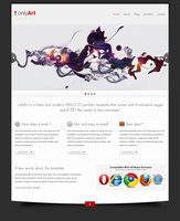 Link toOnlyart- html-css template