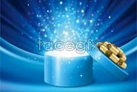 Link toOpen gift box-christmas vector