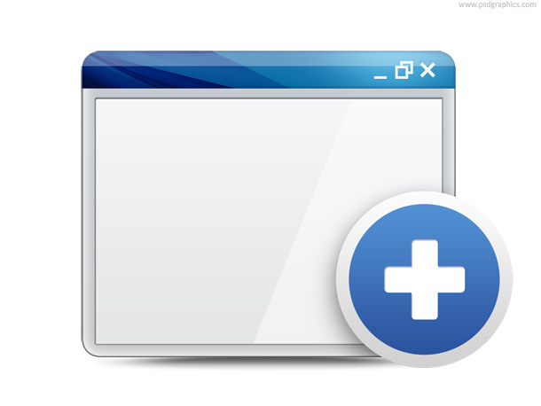 Link toOpen in new window and close window symbols (psd)
