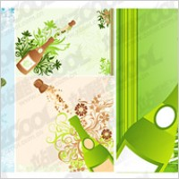 Link toOpen the champagne moment with the tread pattern vector material