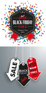 Link toOpening promotional labels vector