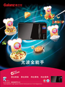 Optical microwave oven psd