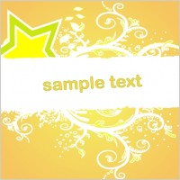 Link toOrange banner vector
