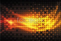 Link toOrange dots, cool light background vector