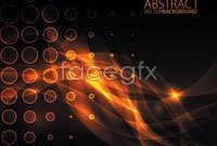 Link toOrange dots, cool light vector background ii