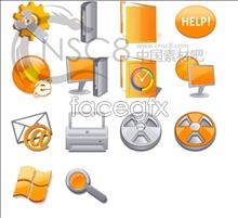 Link toOrange grey icon