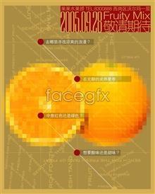 Link topsd templates advertising posters pop Orange