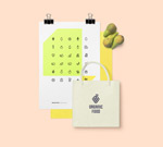 Link toOrganic food icons vector