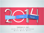 Link toOrigami 2014 new year cards vector
