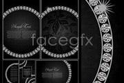 Link toOrnate encrusted decorative background vector