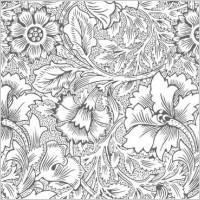 Link toOrnate flower pattern