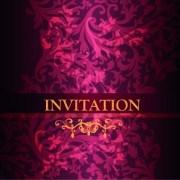 Link toOrnate invitation creative design background art 03 vector