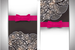 Link toOrnate patterns decorative shufu vector