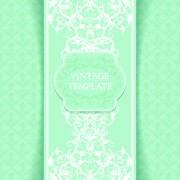 Link toOrnate vintage template background vector 02 free