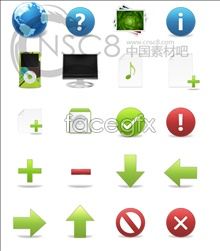 Link toOse clear style series icons
