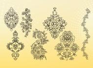 Link toOutline flowers vectors free