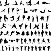 Link toOver 120 free vector body silhouettes