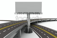 Overpass billboard hd picture