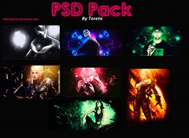 Link toPack psd signatures by toreto #1