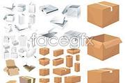 Link toPackaging and carton template vector