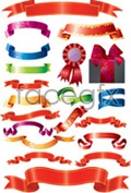 Link toPackaging tapes of a variety of ribbons vector