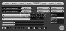 Link toPage control buttons button web design page elements ui design psd