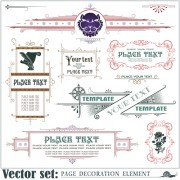 Link toPage decoration borders and frames vector 01 free
