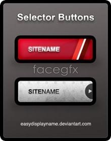 Link toPage exquisite buttons, psd