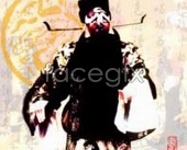 Link toPaint face of beijing opera characters bao footage psd