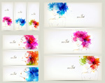 Link toPainted beauty banner vector