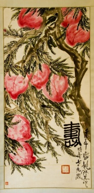 Link toPainting in ' zhonghuashoutao ' peach pictures