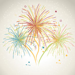 Link toPainting the fireworks design vector