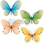 Link toPaints beautiful butterflies vector