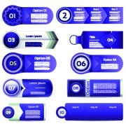 Link toPaper banners number vector 05