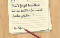 Link toPaper notes psd